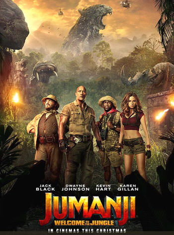 Jumanji Welcome to the Jungle 2017 English