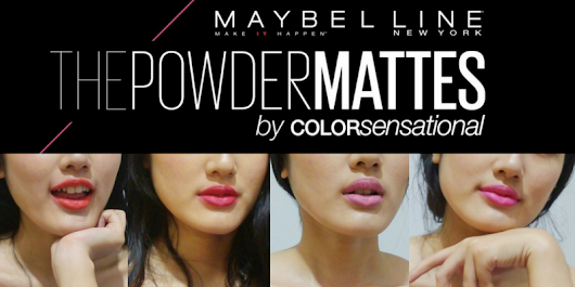 Maybelline The Powder Mattes by Color Sensational - ALICE OLICE