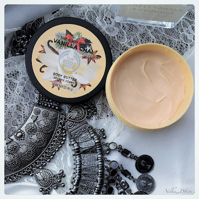 Beurre corporel The body shop vanilla chaï