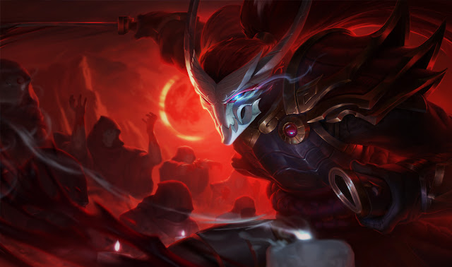 Mod Skin Yasuo Blood Moon Official