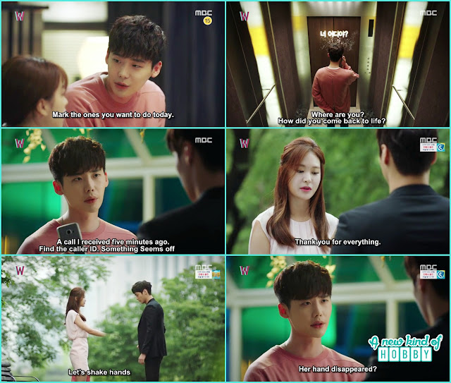 killer call Kang chul  - W - Episode 7 Review - Korean Drama 2016