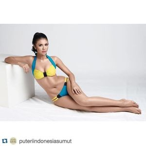 Ariska Putri Pertiwi Wear Sexy Bikini