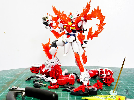 CUSTOM BUILD: TRY BURNING GUNDAM