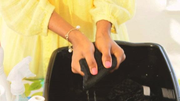 jubah muslimah untuk cucian tangan
