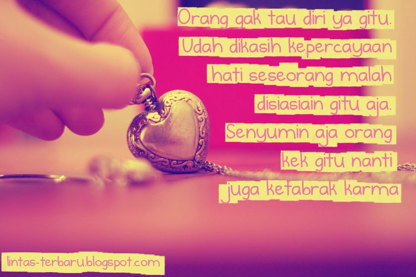 Gambar Foto DP BBM Kata Kata Sakit Hati Putus Cinta ...