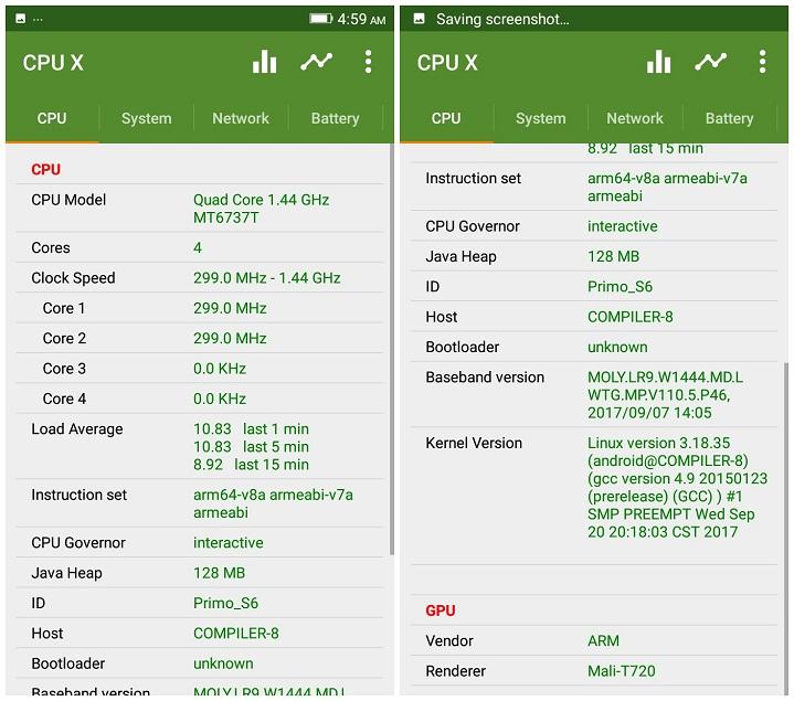 Primo S6 CPU GPU হ্যান্ডস-অন রিভিউঃ দারুণ সেলফি ক্যামেরা আর লেটেস্ট ফিচারের Walton Primo S6