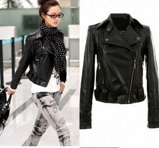 Gambar Jacket Kulit Korean Style