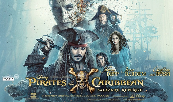 Film PIRATES OF THE CARIBBEAN: SALAZAR'S REVENGE Bioskop