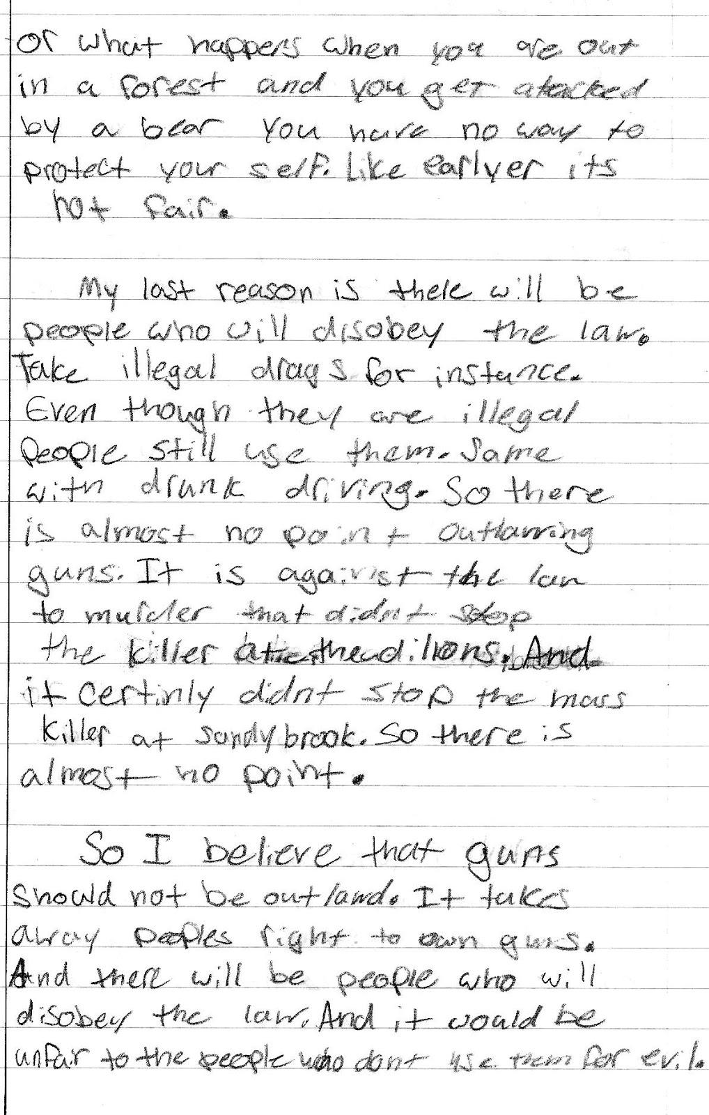 Gun Control Essay Gun Control Essay Topics Persuasive Speech Gun