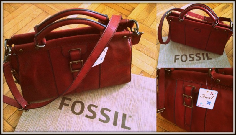 9cb5aa949 A dream called fashion : New in: Fossil Vintage Revival Satchel