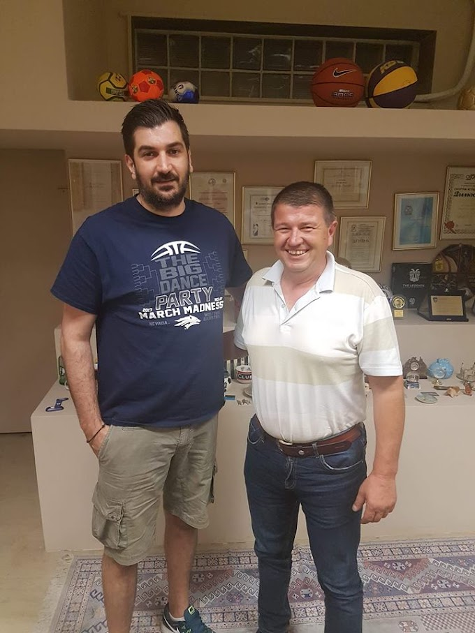 Νέος τεχνικός στη Γέφυρα ο Τάσος Κουγιουμτζίδης