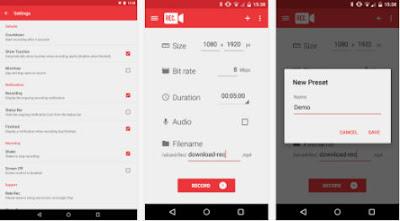 Cara Merekam Layar Android Tanpa Rooting