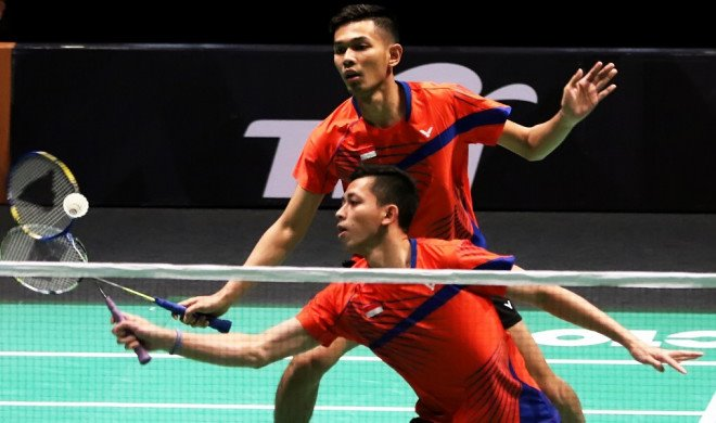 Final Bulu Tangkis Beregu Asian Games 2018