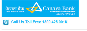 Canara Bank Missed Call Balance Enquiry Number or SMS, Toll