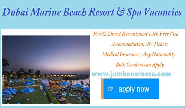 Latest hotel jobs in Dubai,  5 star hotel jobs in Gulf countries,