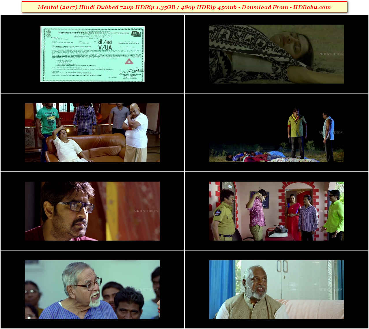 Mental Hindi Dubbed Full Movie Download