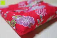 Kissen Ecke: Japanische Maneki Neko Glückskatze aus Porzellan (Klein, 12 cm)
