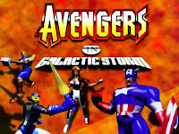 The Avengers in Galactic Storm