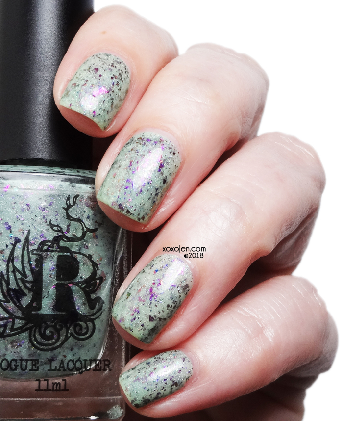 xoxoJen's swatch of Rogue On A Whim