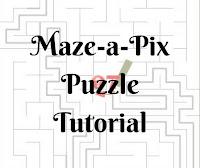 Online Maze-a-Pix Puzzle Tutorial by Conceptis Puzzles