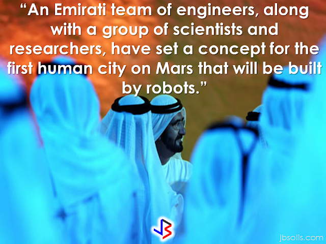 "The UAE has made an announcement that may sound like a fake news to you but, yes, it is legit and serious.  In line  with its existing plans to venture out into the universe, the Gulf state said  that their  plans includes building the first city on Mars by 2117.  Dubai ruler Sheikh Mohammed Bin Rashid Al Maktoum announced that the Mars 2117 Project, is part of a 100-year national program to achieve scientific breakthroughs that will enable the transporting of people to Mars.  A virtual presentation was showcased depicting an initial concept for the city on Mars during the announcement.               According to Dubai-based newspaper Gulf News.The project will be in collaboration with ""specialized international organizations and scientific institutes.""      ""The landing of people on other planets has been a longtime dream for humans. Our aim is that the UAE will spearhead international efforts to make this dream a reality."" Sheikh Mohammed said.   he said that human ambitions have no limits, and whoever looks into the scientific breakthroughs in the current century believes that human abilities can realize the most important human dream.  ""The new project is a seed that we are planting today, and we expect the next generations to reap its fruits,"" the Sheikh added.  The project is in accordance with an announcement made in 2015, in which the UAE unveiled its Mars Probe mission, sending the Arab world's first spacecraft in a scientific exploration mission that will land on Mars in 2021.  According to Abu Dhabi Crown Prince Sheikh Mohammed Bin Zayed, the said project aims to boost the UAE's scientific advancement.   The city they are planning build will be about the size of Chicago said to accommodate 600,000 humans.  Source: Saudi Gazette RECOMMENDED:  BEFORE YOU GET MARRIED,BE AWARE OF THIS  ISRAEL TO HIRE HUNDREDS OF FILIPINOS FOR HOTEL JOBS  MALLS WITH OSSCO AND OTHER GOVERNMENT SERVICES  DOMESTIC ABUSE EXPOSED ON SOCIAL MEDIA  HSW IN KUWAIT: NO SALARY FOR 9 YEARS  DEATH COMPENSATION FOR SAUDI EXPATS  ON JAKATIA PAWA'S EXECUTION: ""WE DID EVERYTHING.."" -DFA  BELLO ASSURES DECISION ON MORATORIUM MAY COME OUT ANYTIME SOON  SEN. JOEL VILLANUEVA  SUPPORTS DEPLOYMENT BAN ON HSWS IN KUWAIT  AT LEAST 71 OFWS ON DEATH ROW ABROAD  DEPLOYMENT MORATORIUM, NOW! -OFW GROUPS  BE CAREFUL HOW YOU TREAT YOUR HSWS  PRESIDENT DUTERTE WILL VISIT UAE AND KSA, HERE'S WHY  MANPOWER AGENCIES AND RECRUITMENT COMPANIES TO BE HIT DIRECTLY BY HSW DEPLOYMENT MORATORIUM IN KUWAIT  UAE TO START IMPLEMENTING 5%VAT STARTING 2018  REMEMBER THIS 7 THINGS IF YOU ARE APPLYING FOR HOUSEKEEPING JOB IN JAPAN  KENYA , THE LEAST TOXIC COUNTRY IN THE WORLD; SAUDI ARABIA, MOST TOXIC   ""JUNIOR CITIZEN ""  BILL TO BENEFIT POOR FAMILIES"