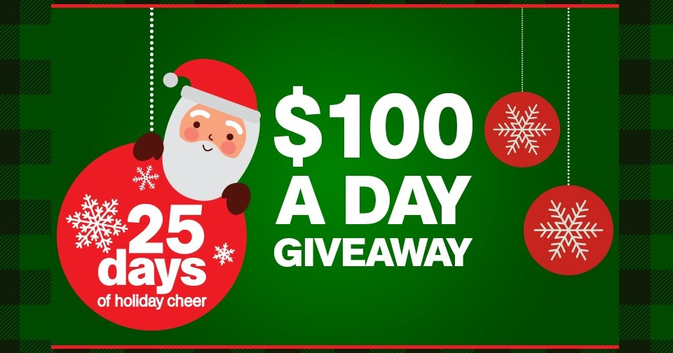 25 Days of Holiday Cheer $100 Giveaway ~ Sweepstaking.net - A one ...