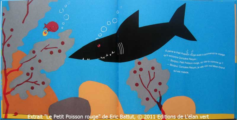 Le petit chaperon marin a sent le book for Petit poisson rouge