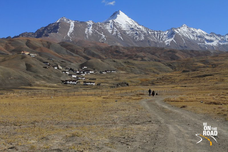 Langza village - of fossils, rich history, snow capped mountains and more