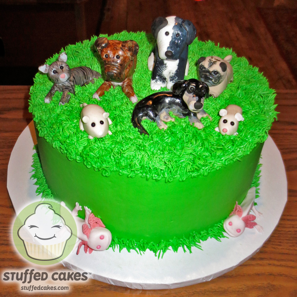 Stuffed Cakes Favorite Pets Cake