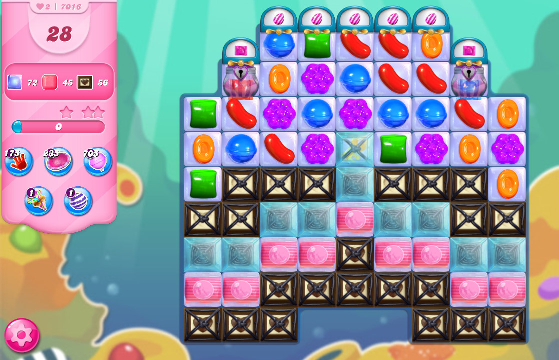Candy Crush Saga level 7016