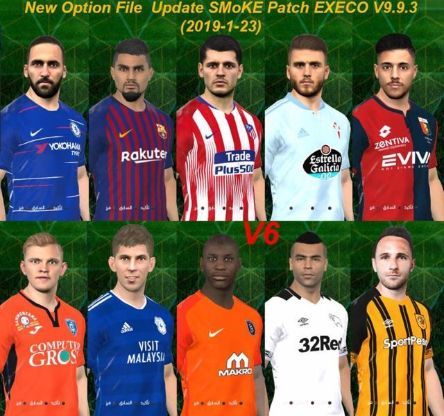 PES 2017 Option File Winter Transfer For SMoKE Patch Execo