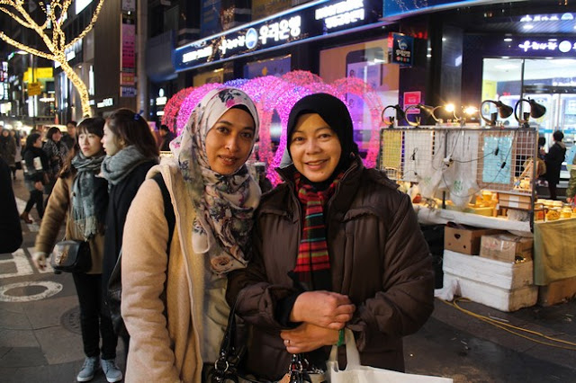 Myeongdong Night Market Korea