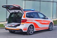 BMW 220d xDrive Gran Tourer Notarzteinsatzfahrzeug (2017) Rear Side