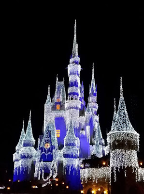 Walt Disney World at Christmas in Orlando Florida