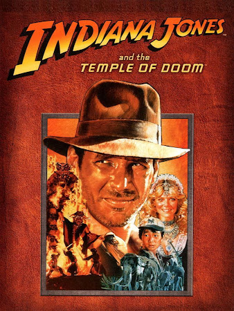 Poster Of Indiana Jones and the Temple of Doom In Dual Audio Hindi English 300MB Compressed Small Size Pc Movie Free Download Only At worldfree4u.com