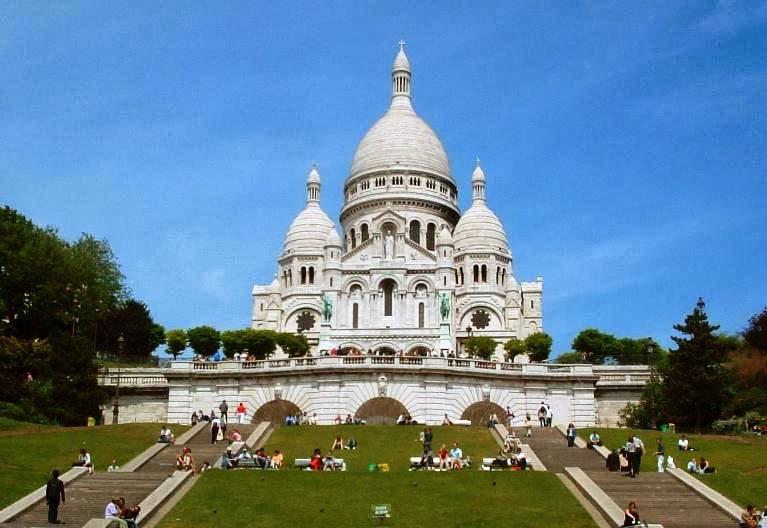 Preferência Basílica do Sagrado Coração em Paris | França | Dicas da Europa WZ15