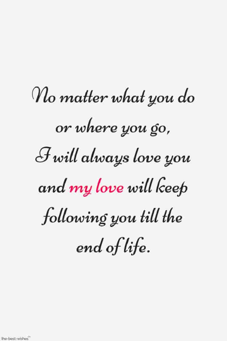 romantic love quote to husband