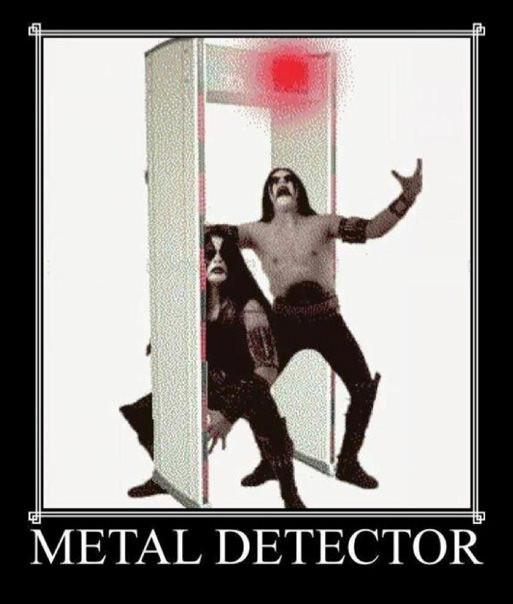 Funny Metal Detector Meme Picture