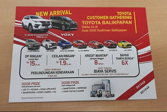 Promo Toyota Balikpapan Kaltim