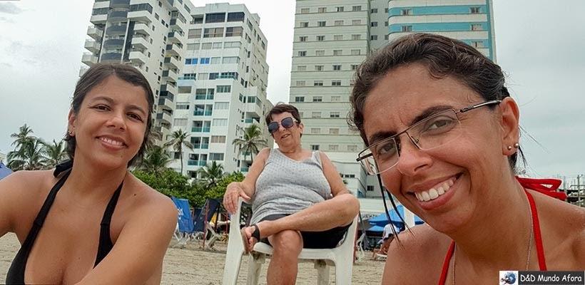 Praia em Bocagrande - Diário de bordo: 4 dias em Cartagena, Colômbia
