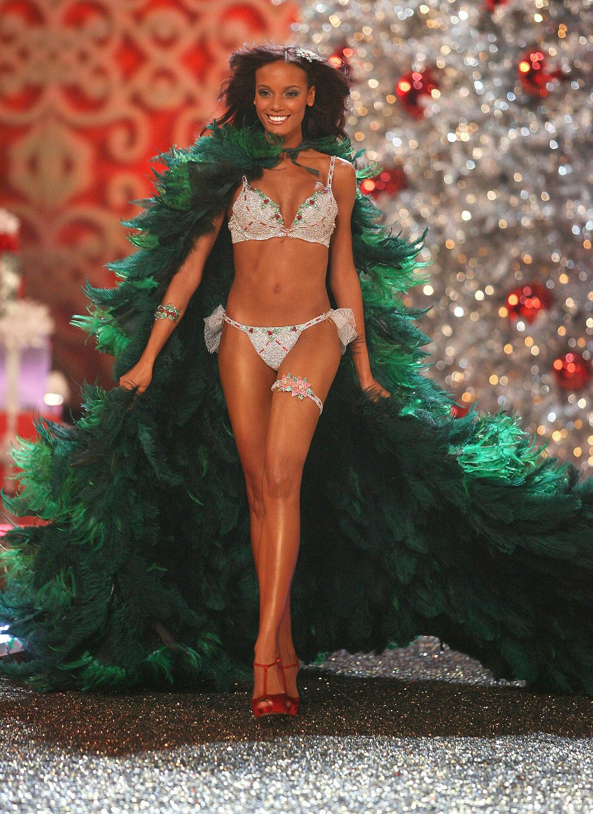 Selita Ebanks - Holiday Fantasy Bra (2007)