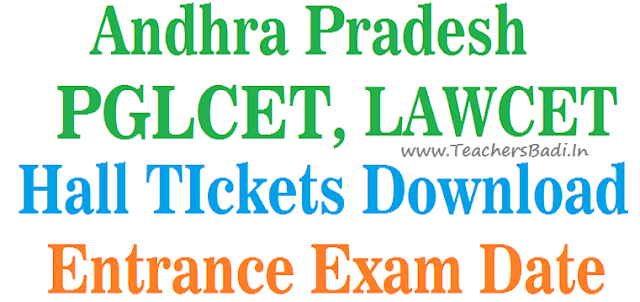 APLAWCET 2018 Hall Tickets,APPGLCET 2018 Hall Tickets