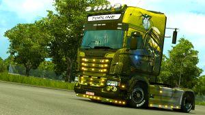EviL DeaD skin for Scania RJL by EviL
