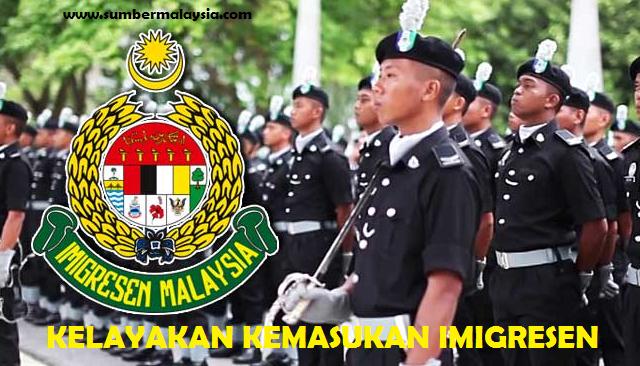 Syarat Kelayakan Kemasukan Imigresen Lepasan Sijil Pelajaran Malaysia Spm Sumbermalaysia