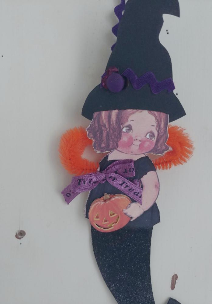 altered art doll