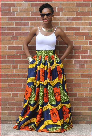 south African traditional Ankara dresses