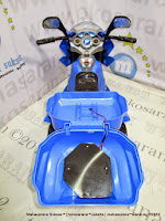 Yotta Toys Tornado Meteor Series Battery Toy Motorcycle Blue