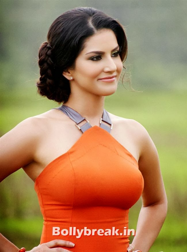 Sunny-Leone-Hot-Otange-Dress-in-Jackpot-Sunny-Leone-Jackpot-Movie-Hot ...
