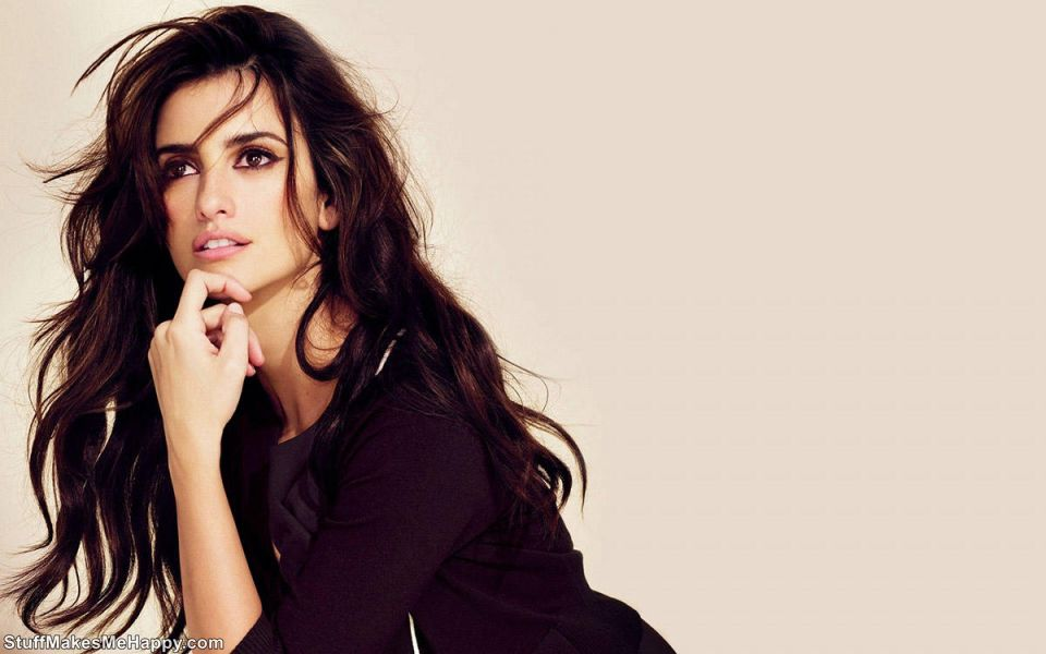 10. The Spanish actress Penelope Cruz
