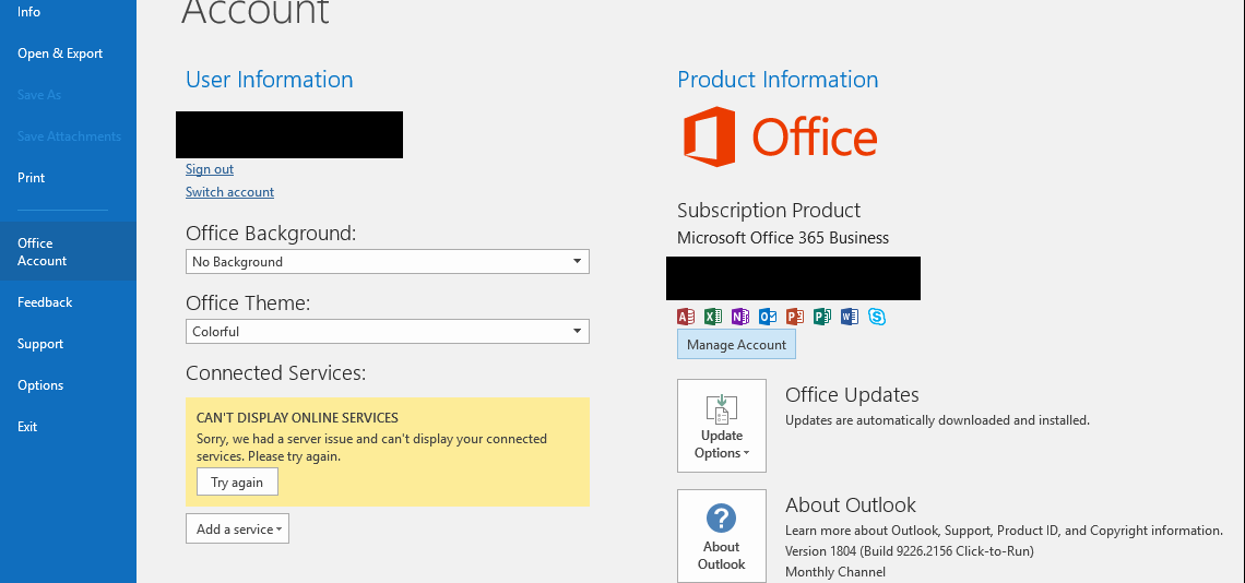 Jason Hartman Consulting: Office 365 - Can't Display Online Services